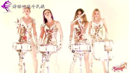 俄罗斯女子小鼓表演团,每一场演出都座无虚席