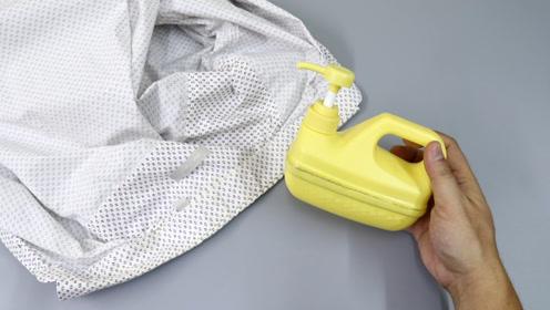 洗洁精瓶子简单制作,可以用来熨衣服,制作简单,创意太棒了