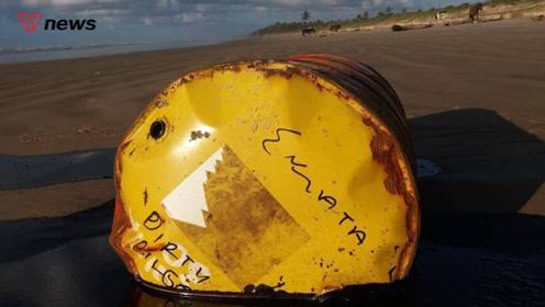 """原油泄漏污染132片海滩,巴西环保系统又现""""软肋"""""""