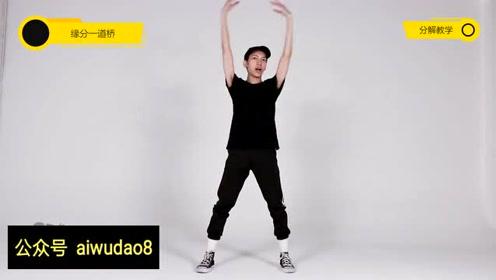 简单好看中国风舞蹈《缘分一道桥》舞蹈教学