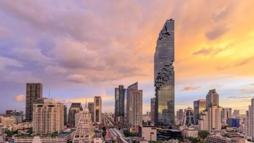 泰国第一高楼,花46亿被嘲笑太丑,结果一到晚上全都闭嘴了