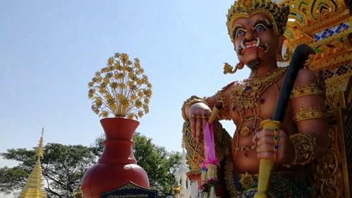 """泰国最""""潮""""寺庙,准确的说是走在时尚前端,你看明白了吗?"""