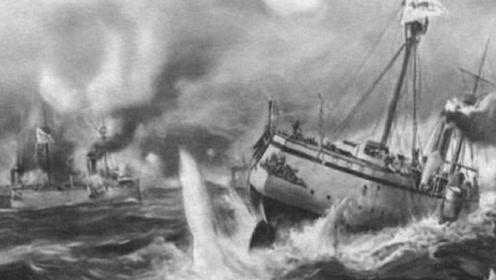 一声巨响!吉野号被自家军舰拦腰撞烂,413名士兵生死未卜