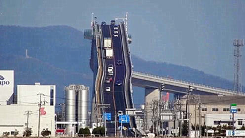日本最陡的桥因广告走红,网友前去打卡,却大失所望!