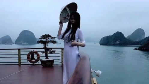 为什么越南女人都穿奥黛?除了好看,最重要的原因是方便游客!