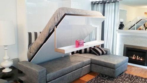 """中国公司设计的超实用创意家居,吃完饭桌子就""""不见了""""?"""