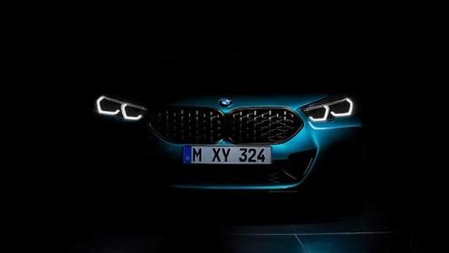 宝马2系Gran Coupe预告图发布,竞争奔驰CLA