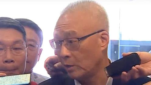 被问郭台铭能否帮国民党站台 吴敦义措辞强硬直接亮2个前提条件