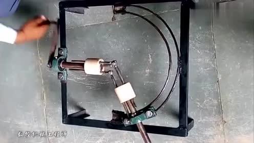 无齿轮角传动系统,见识这个聪明的设计!