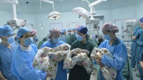 """""""国庆四胞胎""""父亲筹款:孩子发育欠佳,需50万治疗费"""