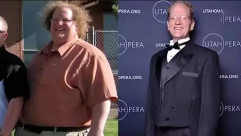 太励志了胖大叔记录自己一年3个月减重136公斤感同身受