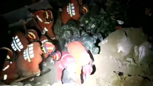 甘肃定西山体滑坡农家被埋,救援画面令人动容!4人被埋不幸身亡