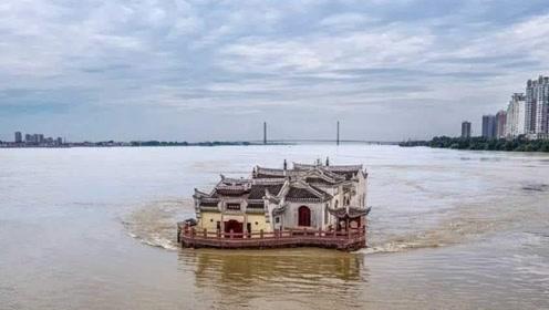 """长江里的一座""""钉子户"""",霸占江心700多年,为什么它不会倒?"""