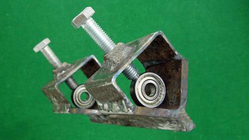 牛人制作的焊接神器,用起来太方便了,真是脑洞大开!