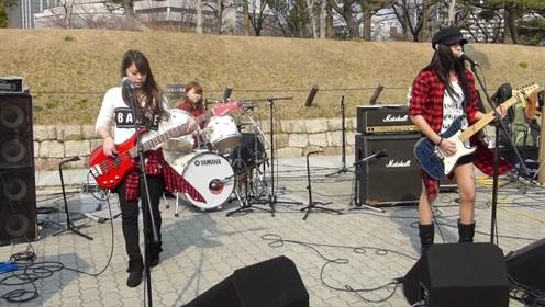 这个日本女子乐队很不错,好像比韩国Bebop还厉害!