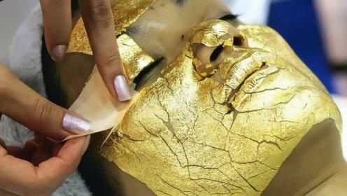 世界上最闪黄金面膜,宣称能减缓皮肤衰老,敷一次要8000元!