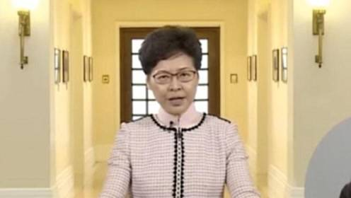 林郑月娥呼吁:只要我们坚定信心 相信香港很快会见到风雨后的彩虹