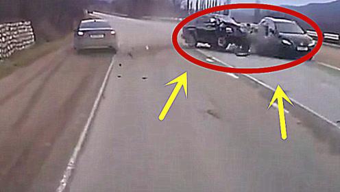 幸亏有行车记录仪,我们才知道这场诡异车祸的真正原因!