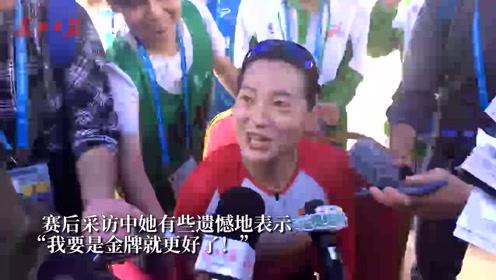 军运会女子自行车:梁洪玉摘铜,赞东湖是最美赛道