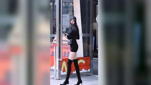 在大街上遇到漂亮姑娘时,男生第一眼是看身材,还是看颜值呢?
