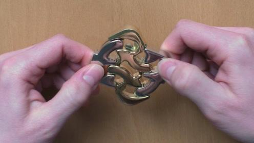 日本发明的这款智力玩具,设计非常精密,看完能解开的全是天才!