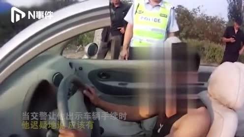 辽宁一男子花600元买改装敞篷车,上路遇交警:被罚4800元