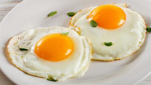 荷包蛋的正确煎法,不破不粘锅,香嫩又好吃,简单易学0失误
