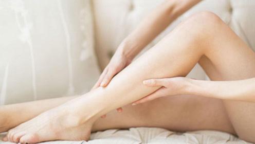 睡觉时腿经常会抽筋,当心2个地方出问题