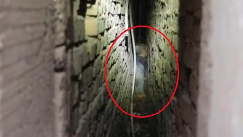 八旬老人4楼坠落墙缝救其一命 消防等协力凿洞成功营救