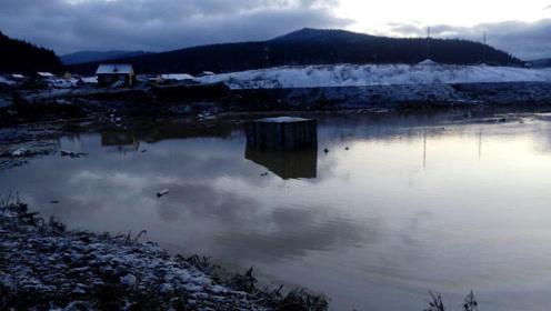 俄罗斯一大坝垮塌 4米高水浪淹没2栋楼至少11死15失踪