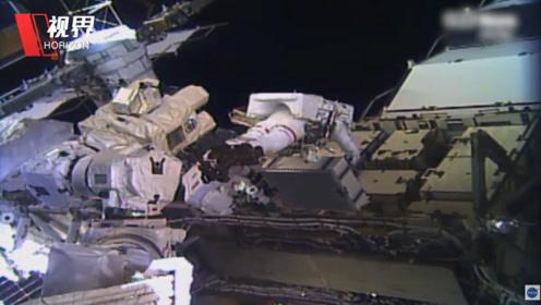 历史性时刻 NASA执行人类首次全女性太空行走