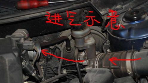 发动机进气管冒白烟,究竟是好还是不好?工程师给了答案