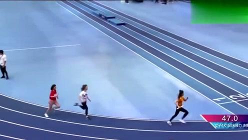 杨超越速度这么快,原来是被中国飞人苏炳添指点过