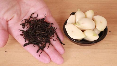 茶叶和大蒜一起用,效果太神奇了,很多男女都需要,去试试