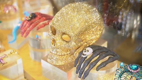 造型独特!暗黑摇滚系珠宝走红欧美时尚圈 网友:怪好看的