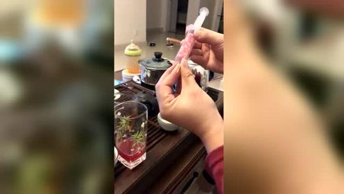 针筒鲜榨石榴汁升级版,脑洞无限大系列