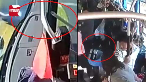 因不让道拌嘴,乘客怂恿公交司机怼出租:两司机均被刑拘