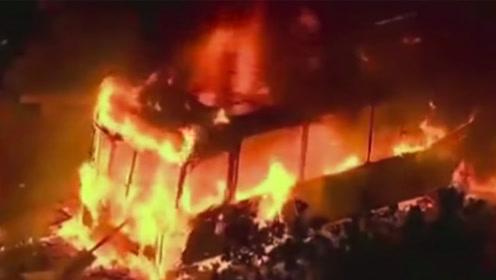 暴力抗议升级!智利首都宵禁夜发生首起死伤事件