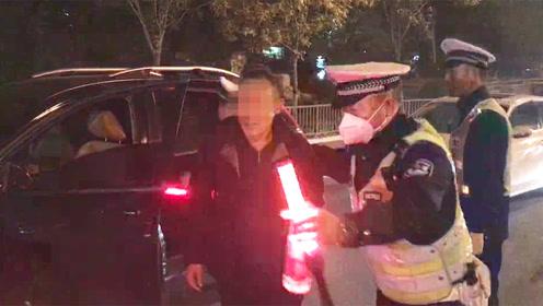 """""""就喝了一小杯""""!北京交管开展""""两打击一整治""""专项行动,一晚上逮了仨"""