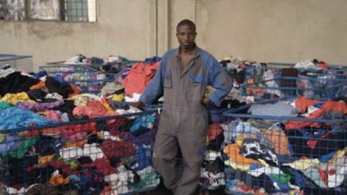 中国好心捐赠的衣服,运到非洲竟被这样处理,看完还有多少人愿意捐?