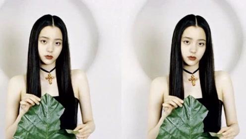 欧阳娜娜新造型一改甜美可爱,黑直长发、高马尾让人眼前一亮