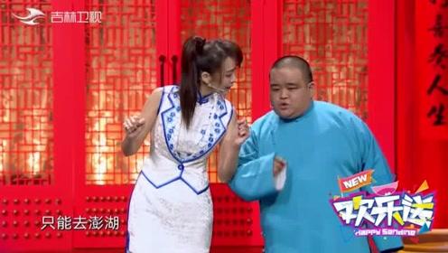 刘喆上台就开嗓,现场模仿老北京货声活灵活现,观众仿佛身临其境