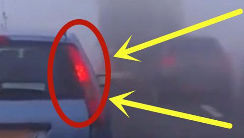"""当车遇上被称为""""流动杀手""""的雾团,就好像被""""利益""""蒙蔽了双眼,束手无策"""