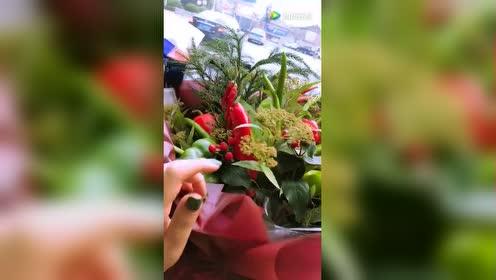 妹子:闺蜜生病!一群损友给送的鲜花!了解一下!
