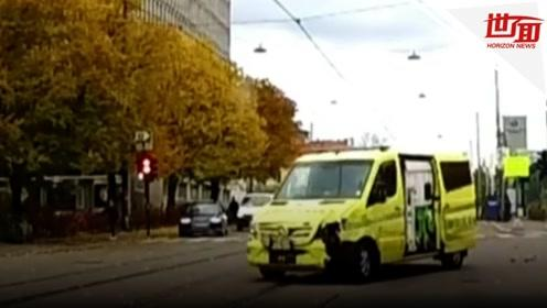 男子持枪劫持救护车冲撞路人 致多人受伤包括2名婴儿