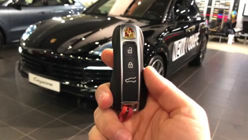 2020款保时捷卡宴Coupe 按下钥匙打开车门那刻 我忘记了宝马X6