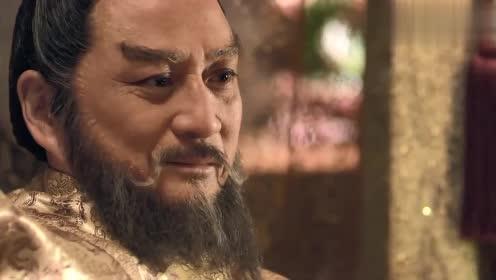 杨广还算良心未泯,听了父亲的话,千钧一发之际阻止了他喝药