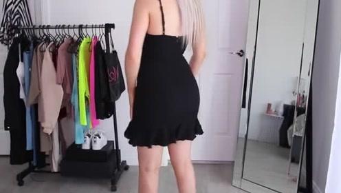 吊带连衣裙,时尚修身