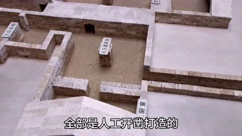 龟山汉墓沙盘模型,全面了解整个地宫的建筑规模