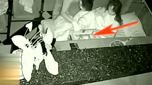 美女在前台睡觉,被一股力量惊醒,监控拍下罪恶画面